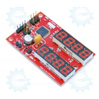 4x2 UART 7 Segment LED Display Module with Timer & Counter