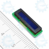 1x8 LCD with Backlight