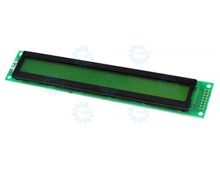 2x40 LCD without Backlight
