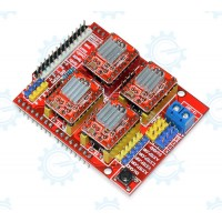 CNC Shield w Stepper driver A4988