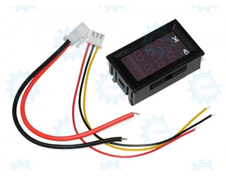 POWER:  Digital Voltmeter/Ammeter Dual Display, 0 to 100V, 0 to 10A