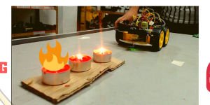 DIY e-Bot Fire Fighting Robot