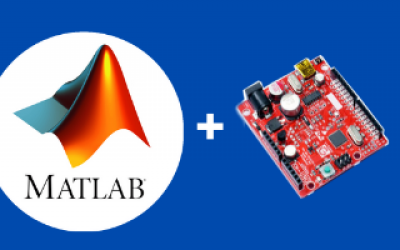 gizDuino boards interface with MATLAB R2017b