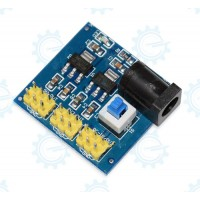 Multi Output voltage  12V to 3.3V5V12V 800mA conversion module