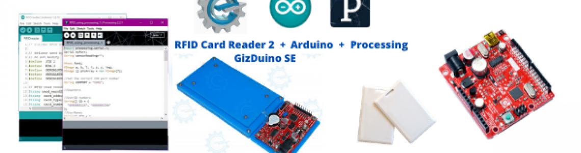 RFID viewer Demo with Processing GUI