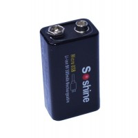 9V USB Li-ion Battery