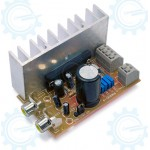 20W+20W Stereo Audio Amplifier ( RMS ) Disassembled