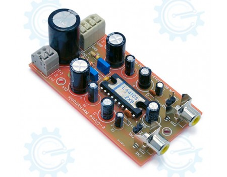 5W+5W Stereo Audio Amplifier ( RMS ) Disassembled