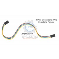 Female to Female 3-Pins Connecting Wire 40cm