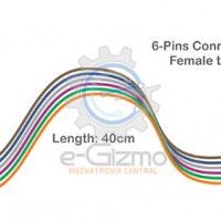 Female to Female 6-Pins Connecting Wire 40cm