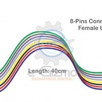 Female to Female 8-Pins Connecting Wire 40cm
