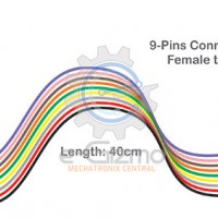 Female to Female 9-Pins Connecting Wire 40cm