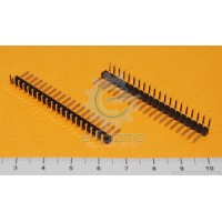 Male Angle Header 20-Pins 2.54mm Pitch