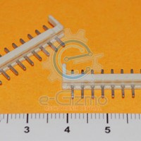 12-Pin Male Wafer White 2mm Pitch