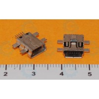 USB Connector Mini B Female