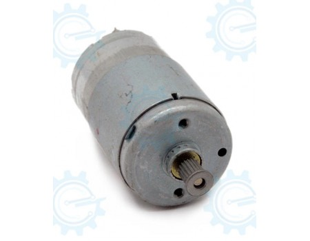 EM-529 High Speed 12-24V DC Motor With Magnetic Shield
