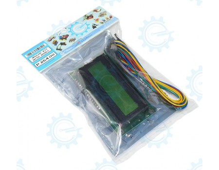 JM162B 2X16 LCD & I/F Adapter Kit with Wires