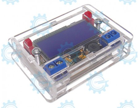 3A DC-DC Stepdown Power Supply wit LCD display shell