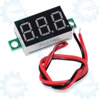 POWER: Digital Voltage Display 4.5V-30VDC