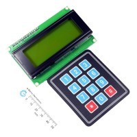 Serial LCD II 4X20 with Keypad 4X3 Function