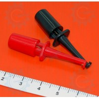 Grabber Clip Pair ( Black & Red )