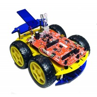 e-Bot (Basic) 4WD Programmable Mobile Robot