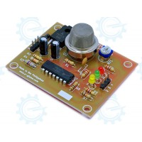 GAS SENSING: Combustible Gas, Smoke Sensor Kit ( MQ-2 )