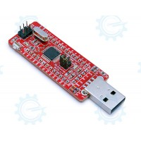 gizDuino Mini USB with ATmega168 (without Pins)