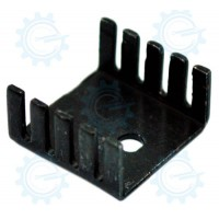 EHS-27  Aluminum Heatsink Black 21x19mm