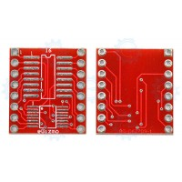 SOIC SSOP to DIP Adapter 16-Pin 600mils