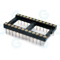 DIP IC Socket Big 24-Pins ( Hirel )