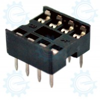 DIP IC Socket 8-Pins