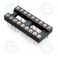 DIP IC Socket 18-Pins ( HIrel )