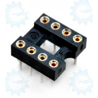 DIP IC Socket 8-Pins ( Hirel )