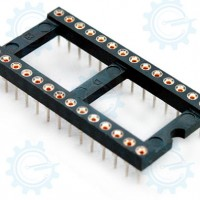 DIP IC Socket Big 28-Pins ( Hirel )