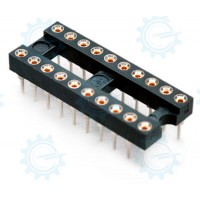 DIP IC Socket 20-Pins ( Hirel )
