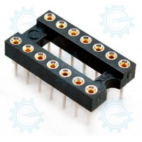 DIP IC Socket 14-Pins ( Hirel )