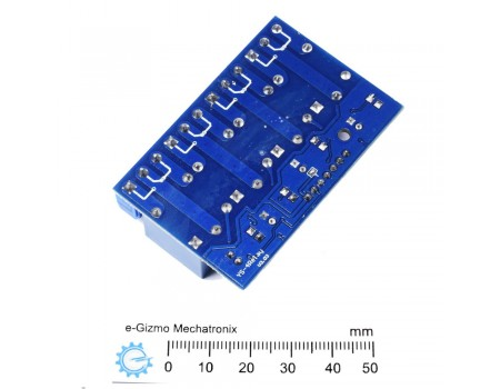 4ch 12V Relay Module Optocoupler Input