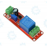 12V Delay Timer Relay with 555 IC