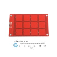 MPR121 Capacitive Touch keypad