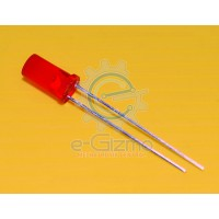Red LED Flat Top 5mm