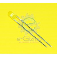 Yellow LED 3mm