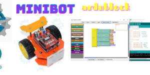 MINIBOT with Ardublock