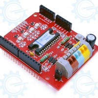 Motor Driver Shield ( Dual Channel DC Motor Driver )