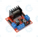 L298N Double H-Bridge DC Stepper Motor Driver