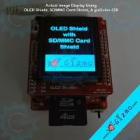 OLED Shield ( 128 x 160 pixels)