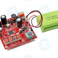 Battery Charger Kit for Ni-Mh with 12V adapter