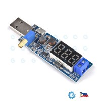 2-3W DC-DC Adjustable Step Up Boost Converter with Voltmeter