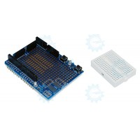 Proto Shield Board w/ Mini Breadboard