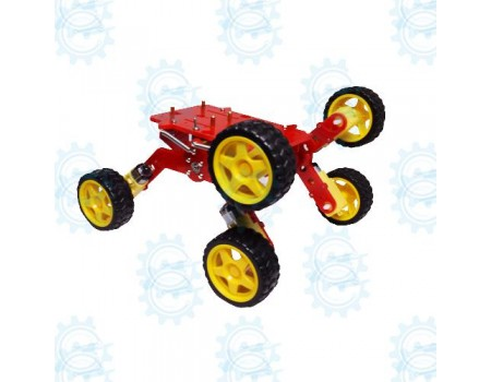All Terrain 6WD Chassis with Li-Ion Battery